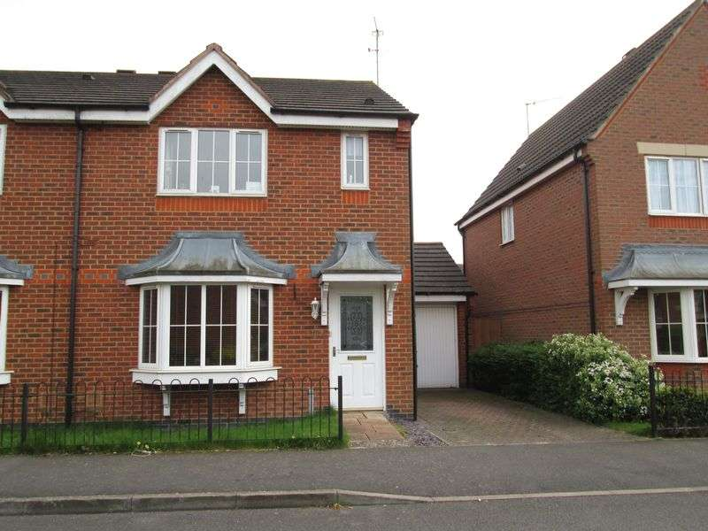 3 Bedrooms Semi Detached House for sale in Timken Way, Daventry, NN11 9TD