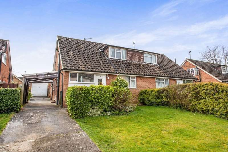 3 Bedrooms Semi Detached House for sale in Gimble Way, Pembury, Tunbridge Wells, TN2