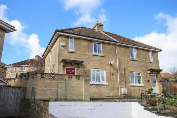 3 Bedrooms Semi Detached House for sale in Melrose Grove, Southdown, BATH