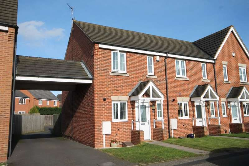 2 Bedrooms End Of Terrace House for sale in Southwick Drive, Glascote, Tamworth, B77 2FP
