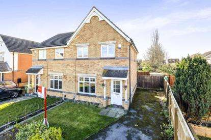 3 Bedrooms Semi Detached House for sale in Linshiels Grove, Ingleby Barwick, Stockton-on-Tees, Durham