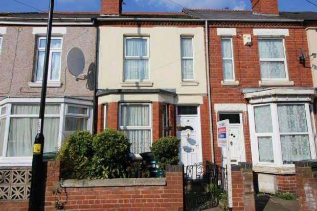 2 Bedrooms Terraced House for sale in King George's Avenue, Foleshill, Coventry