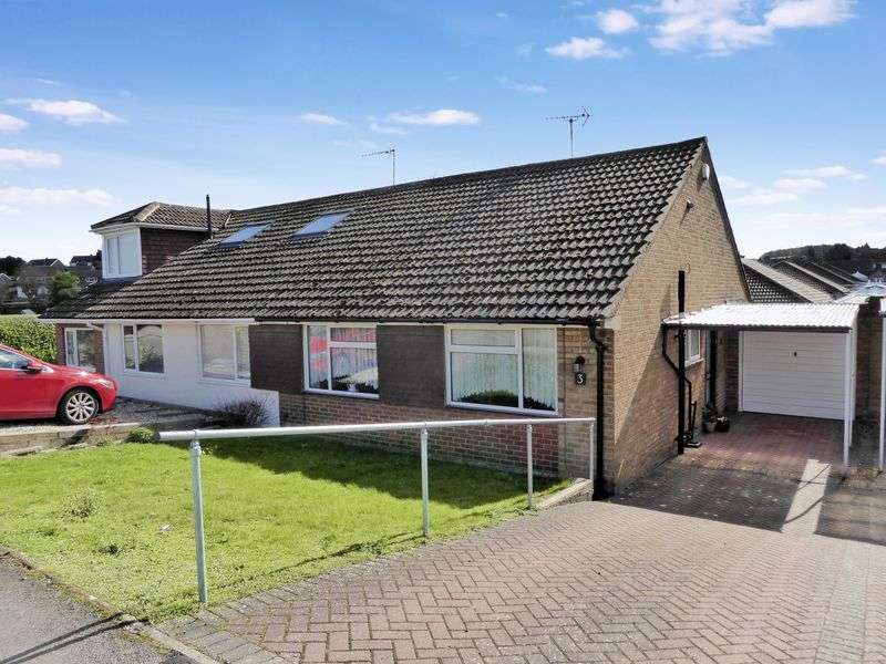 2 Bedrooms Semi Detached Bungalow for sale in Borrowdale Avenue, Dunstable