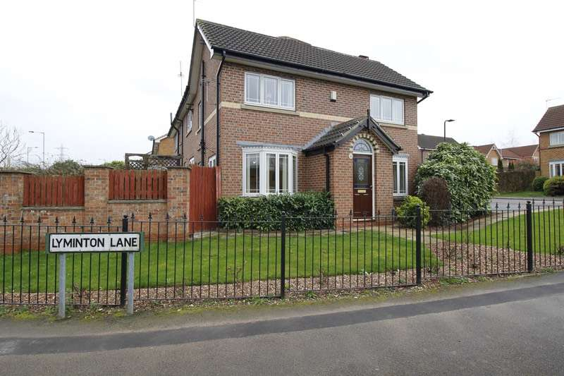 3 Bedrooms Semi Detached House for sale in Lyminton Lane, Rotherham, South Yorkshire, S60