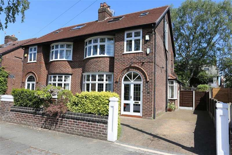 4 Bedrooms Semi Detached House for sale in Westholme Road, Didsbury, Manchester