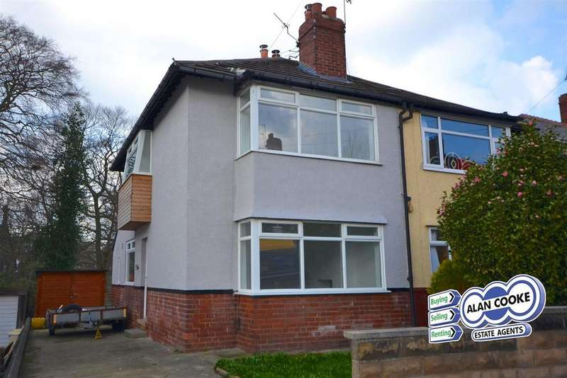 3 Bedrooms Semi Detached House for sale in Church Avenue, Meanwood, Leeds
