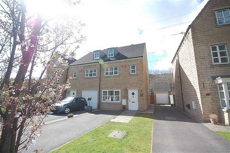 3 Bedrooms Town House for sale in Copley Drive, Copley, Halifax, HX3