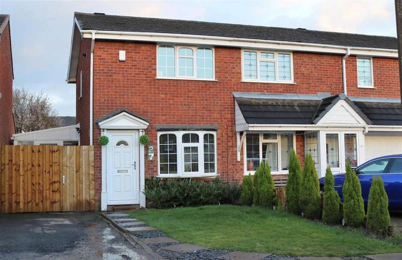 2 Bedrooms Semi Detached House for sale in Roach, Dosthill, Tamworth