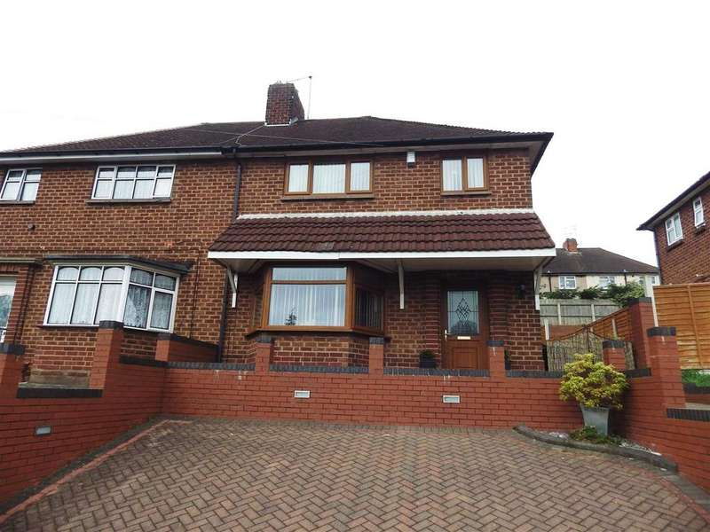 3 Bedrooms Semi Detached House for sale in Talbot Road, Dudley
