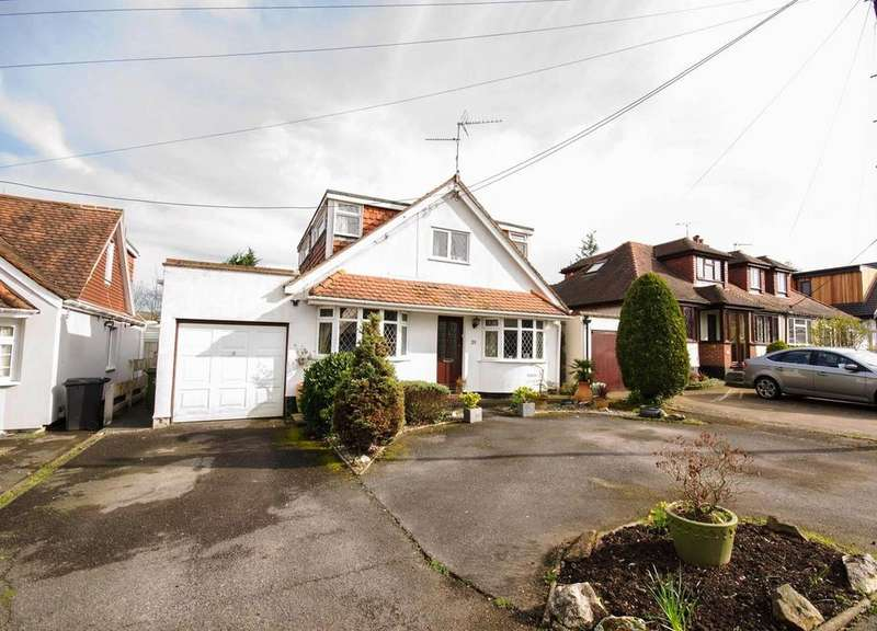 4 Bedrooms Detached House for sale in Mount Pleasant Avenue, Hutton, Brentwood, Essex, CM13