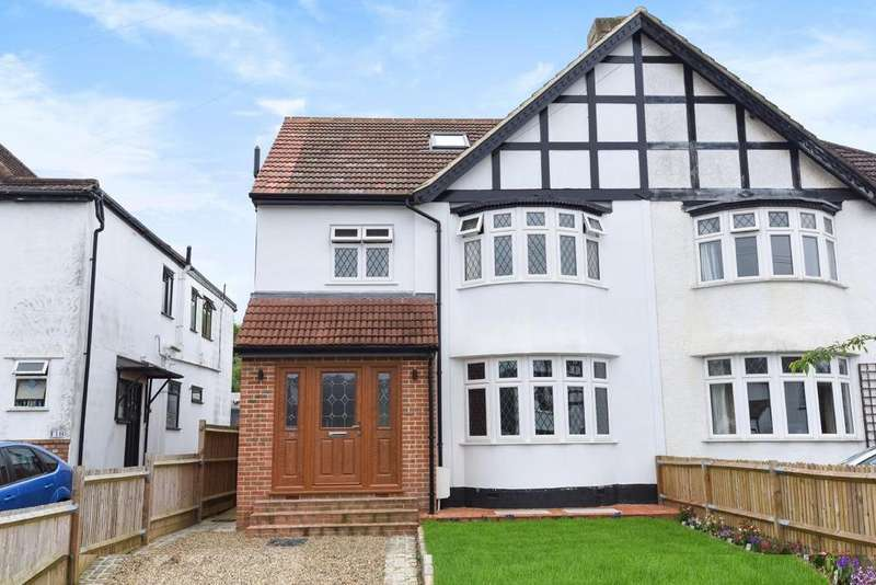 4 Bedrooms Semi Detached House for sale in Queensway, West Wickham, BR4