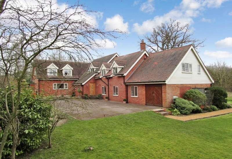 4 Bedrooms Detached House for sale in Dark Lane, Lower Norton
