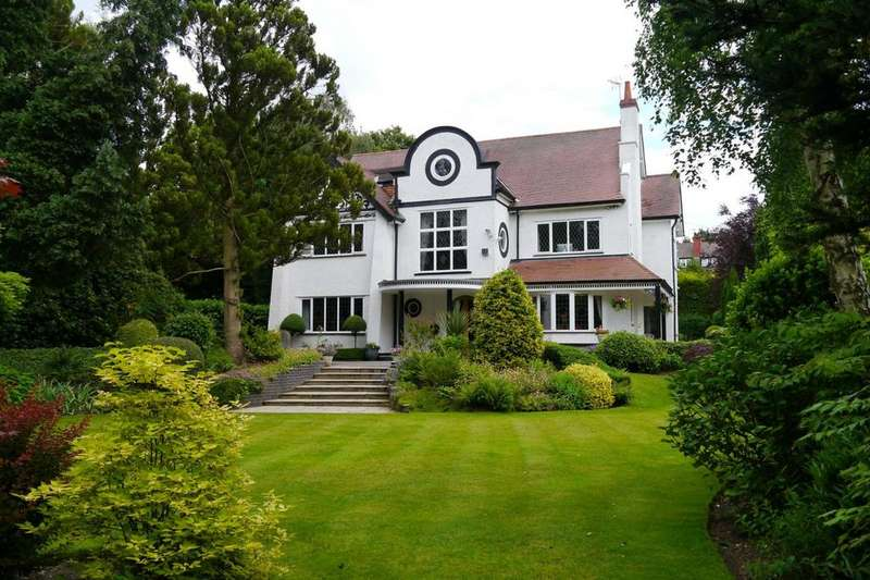 6 Bedrooms Detached House for sale in Park Drive, Hale