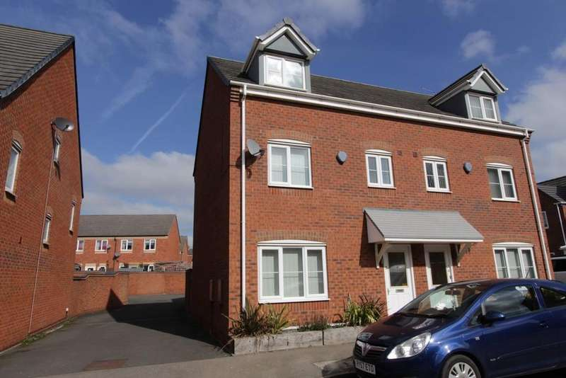 4 Bedrooms Town House for sale in Valley Drive, Wilnecote