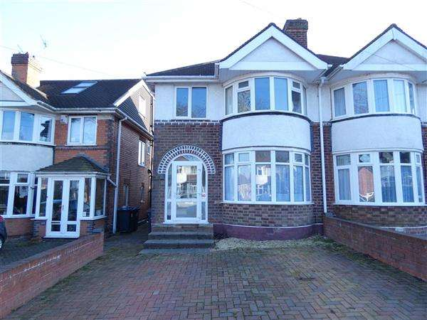3 Bedrooms Semi Detached House for sale in Olorenshaw Road, Sheldon, Birmingham