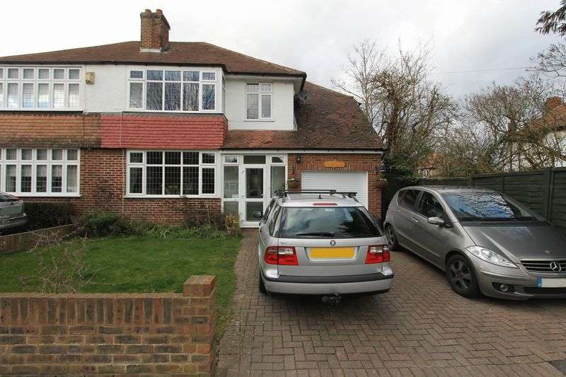 4 Bedrooms Semi Detached House for sale in Church Road, Worcester Park