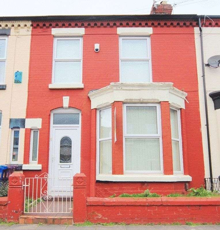 3 Bedrooms Terraced House for sale in Brookdale Road, Wavertree, Liverpool, L15