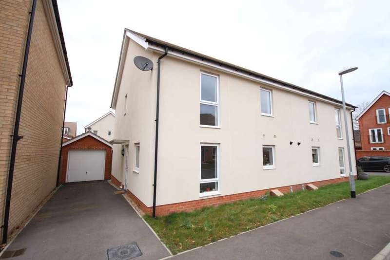4 Bedrooms Semi Detached House for sale in Jaguar Lane, Bracknell