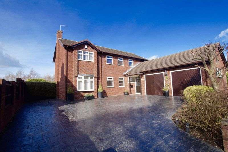 4 Bedrooms Detached House for sale in Quarry Brow, Marford, Wrexham