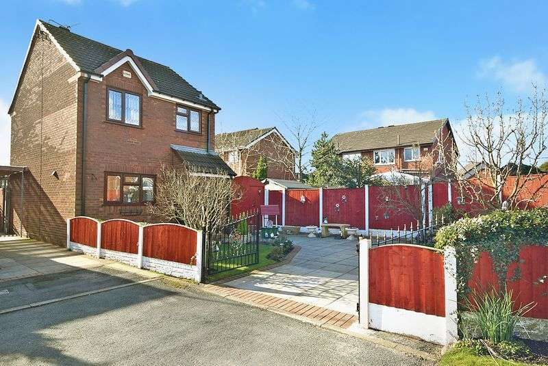 3 Bedrooms Detached House for sale in Shelton Close, Widnes