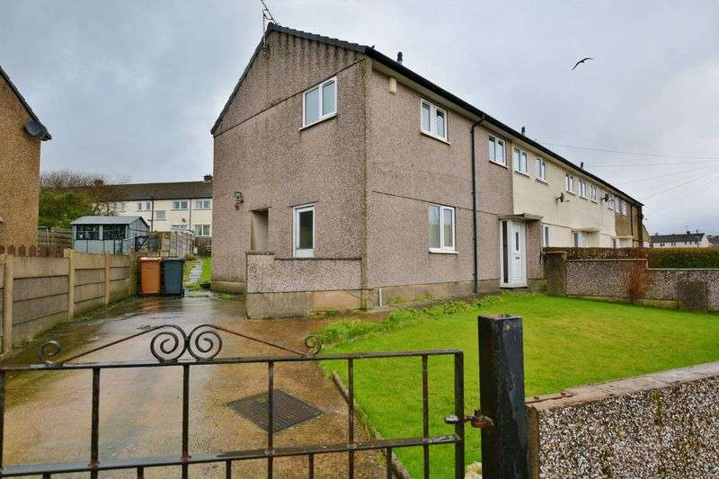 3 Bedrooms Terraced House for sale in Coronation Drive, Frizington