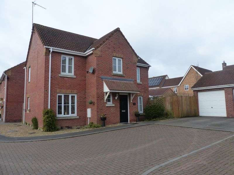 4 Bedrooms Detached House for sale in Morning Star Road, Daventry, NN11 9AA