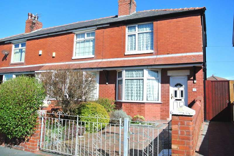 3 Bedrooms End Of Terrace House for sale in Fir Grove, Blackpool, FY1 6PL