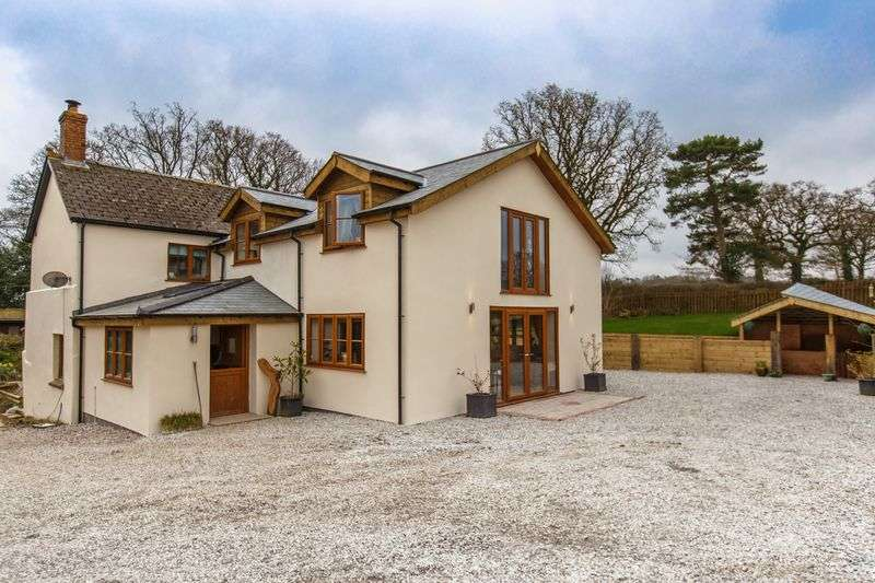 4 Bedrooms Detached House for sale in Cullaford Cottage, Spreyton