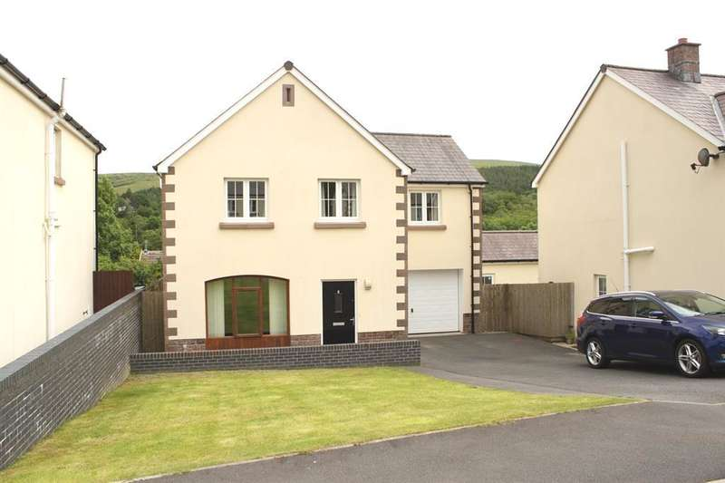 4 Bedrooms Detached House for sale in Maes Y Cribarth, Abercrave, Swansea