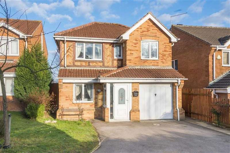 4 Bedrooms Detached House for sale in Standish Gardens, Shirecliffe, Sheffield, S5