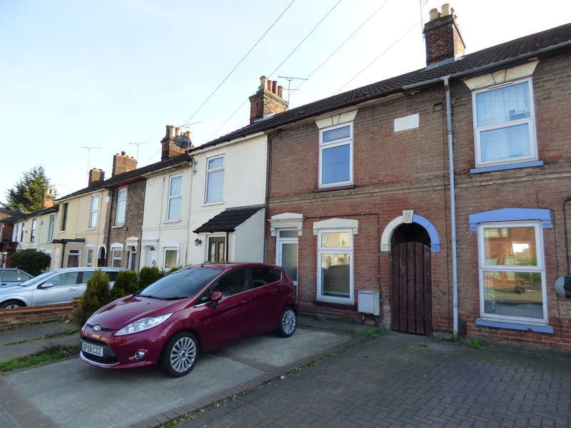 2 Bedrooms Terraced House for sale in Bramford Road, Ipswich, Suffolk