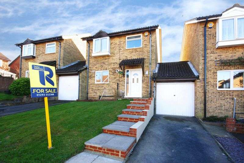 3 Bedrooms Detached House for sale in Tollgate Hill, Crawley