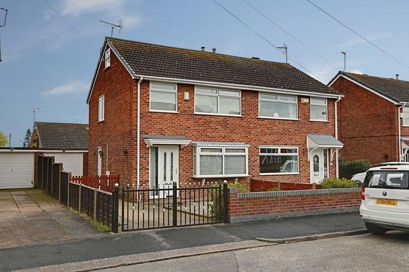 3 Bedrooms Semi Detached House for sale in Hawkshead Green, Hull