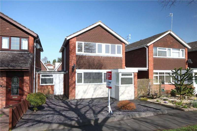 3 Bedrooms Link Detached House for sale in Ribbesford Drive, Stourport-on-Severn, DY13