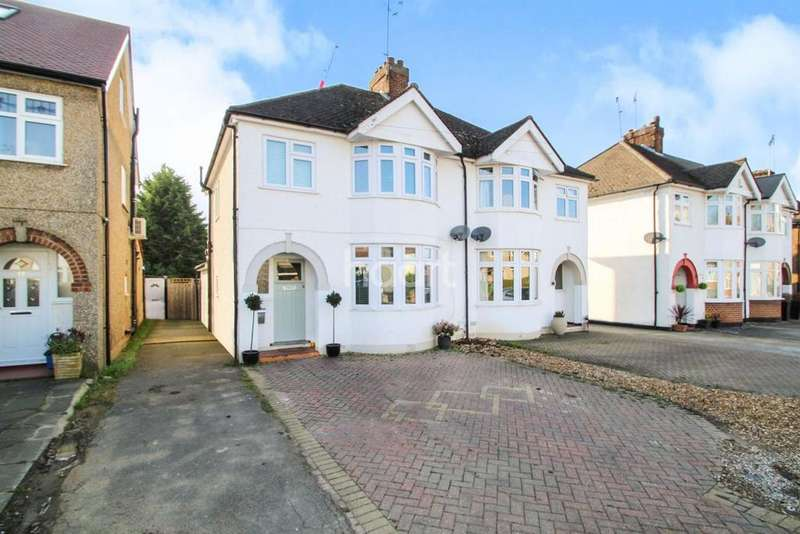 3 Bedrooms Semi Detached House for sale in Bullhead Road, Borehamwood