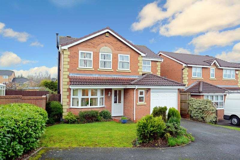 4 Bedrooms Detached House for sale in Gooch Close, Madeley, Telford, Shropshire.