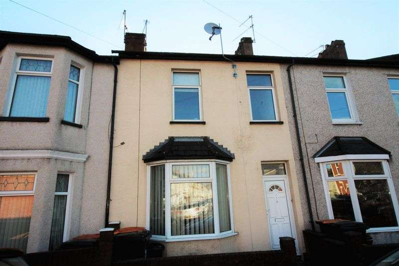 3 Bedrooms Terraced House for sale in Goodrich Crescent, Newport