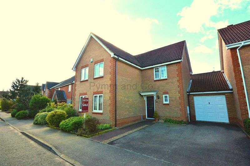 4 Bedrooms Detached House for sale in Century Way, Drayton