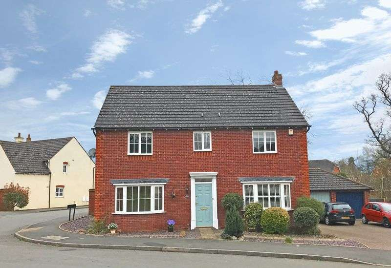 4 Bedrooms Detached House for sale in Royal Worcester Crescent, Bromsgrove