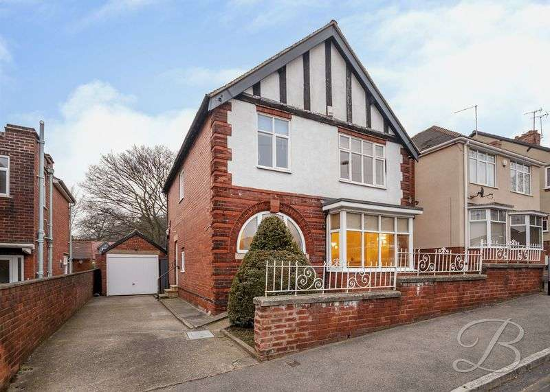 4 Bedrooms Detached House for sale in Paulsons Drive, Mansfield