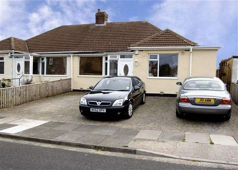 3 Bedrooms Semi Detached Bungalow for sale in REDCAR ROAD, NORTH HEATON