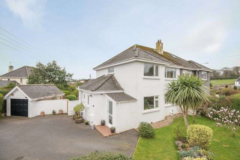 3 Bedrooms Semi Detached House for sale in Falmouth Outskirts