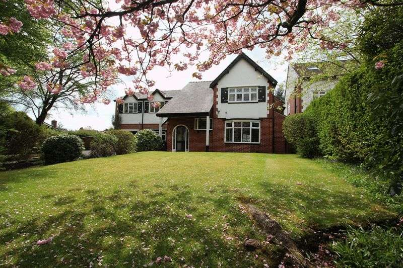 4 Bedrooms Detached House for sale in Higher Lane, Whitefield, Manchester