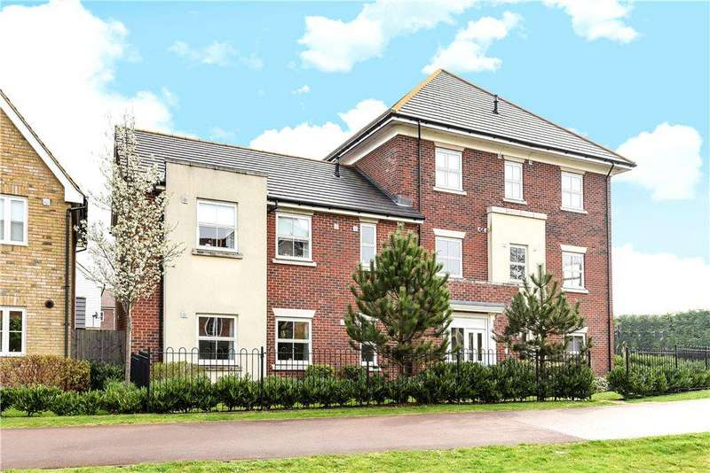 2 Bedrooms Apartment Flat for sale in Rowditch Furlong, Redhouse Park, Milton Keynes, Buckinghamshire