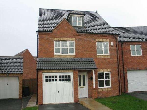 5 Bedrooms Detached House for rent in Kirtley Close, Watnall, Nottingham