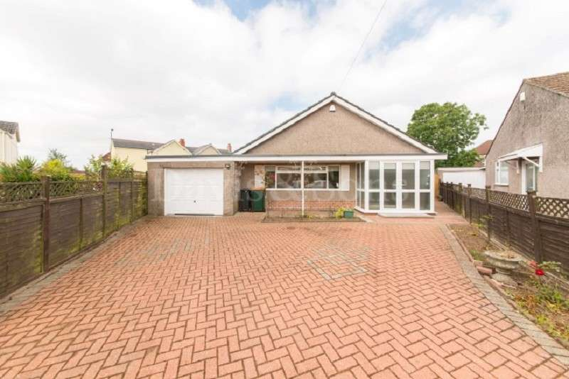 3 Bedrooms Detached Bungalow for sale in Cefn Court, Rogerstone, Newport. NP10 9AH