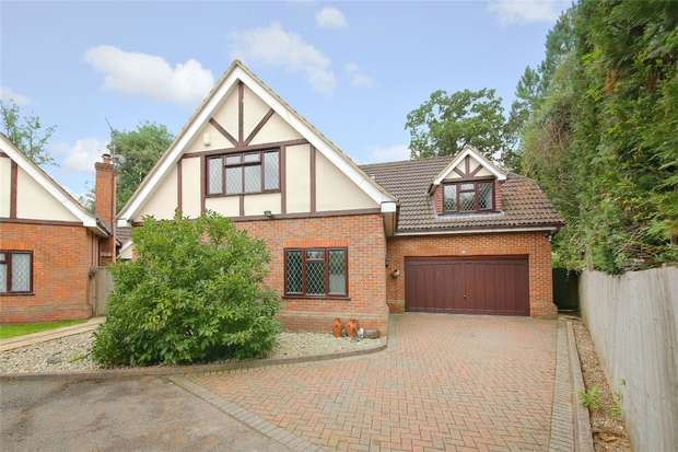 4 Bedrooms Detached House for sale in Hampstead Close, Bucknalls Drive, Bricket Wood, Hertfordshire