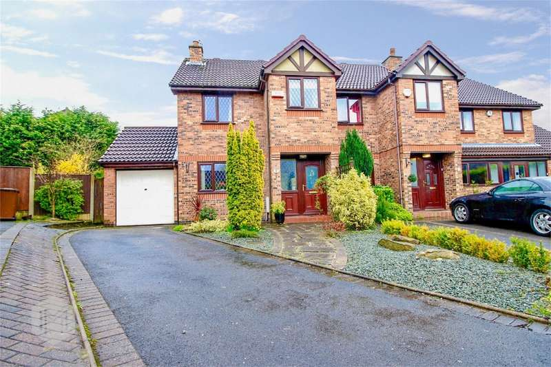 3 Bedrooms Semi Detached House for sale in Border Brook Lane, Worsley, Manchester