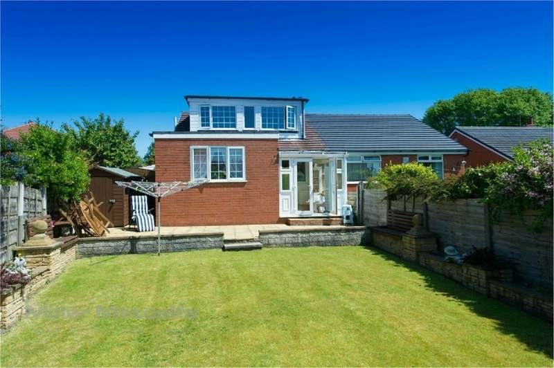 4 Bedrooms Semi Detached House for sale in Carlton Close, Worsley, Manchester