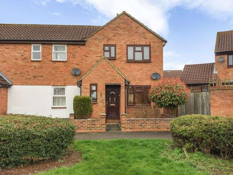 3 Bedrooms Semi Detached House for sale in The Hedgerows, Stevenage